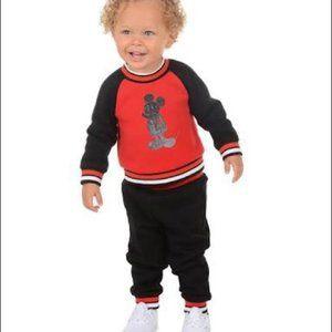 Mickey Mouse Sweatshirt & Jogger Pants Set New